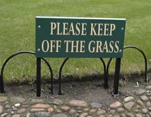 KeepOffTheGrass